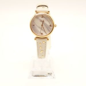 Fossil Accessories - NWT FOSSIL Carlie Mini Winter White Leather Watch